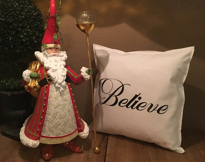 Featured listing image: Believe Pillow Case
