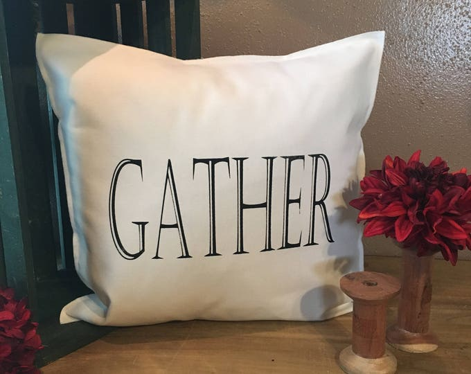 Featured listing image: GATHER Pillow Case