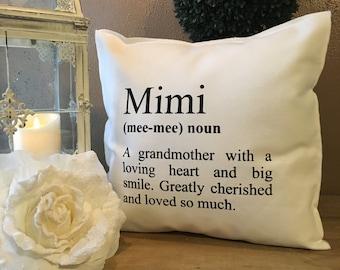 MIMI Definition Pillow Case