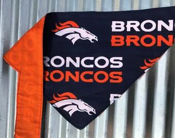 Small Denver Broncos Bandana