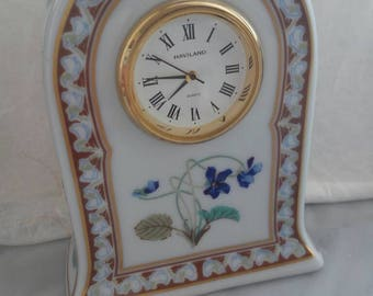 Porcelain Dresser Watch Limoges Antiquities