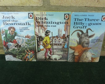 fe0faf4f 3 Vintage Ladybird Books Well loved tales all in good condition