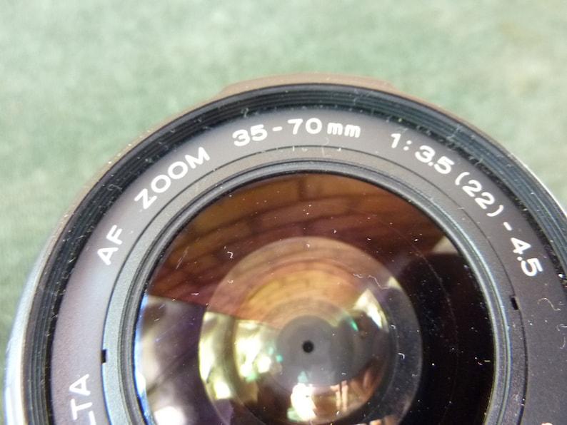 Minolta AF zoom 1:3.5-4.5  35-70mm Minolta A Sony Alpha mount lens #1