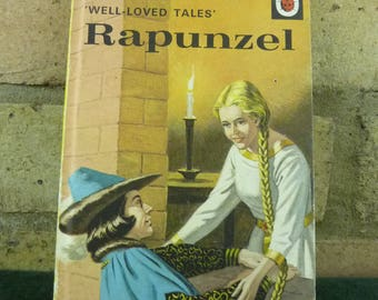 Vintage Ladybird book well loved tales Rapunzel series 606D price 40p