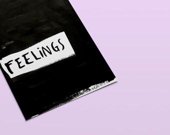 FEELS I Ghetto Romance I Minimalistic Art Print