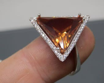 Turkish Handmade Jewelry 925 Sterling Silver Alexandrite Stone Ladies' Ring