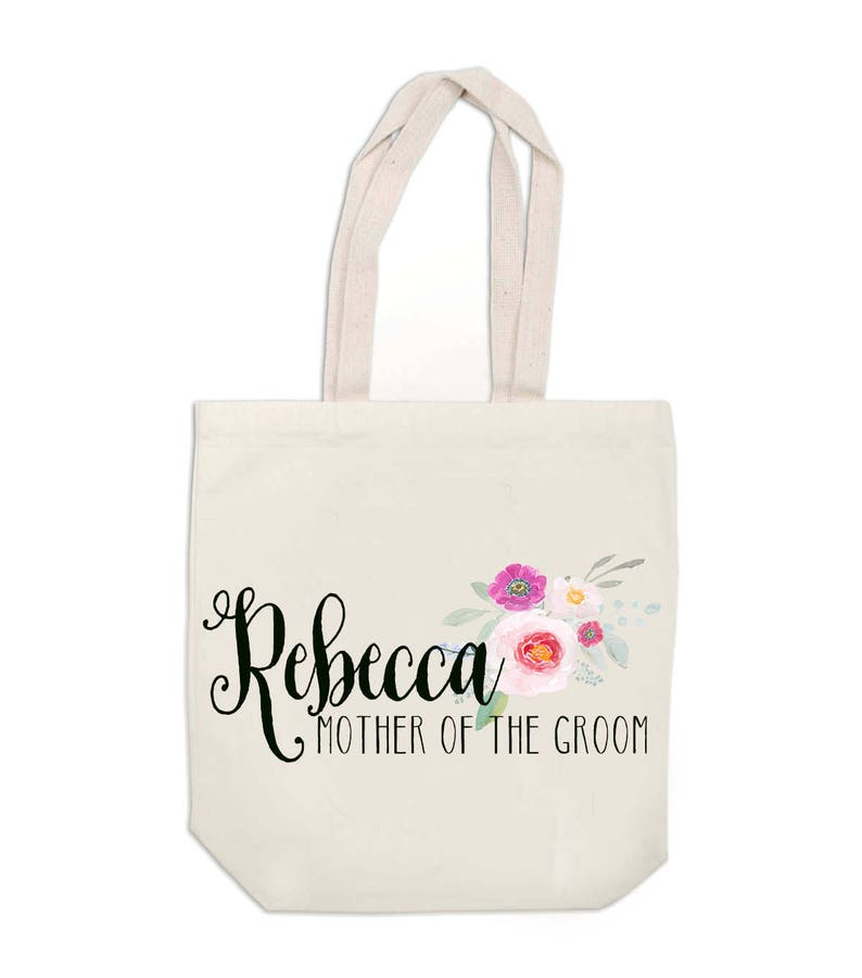 Bridal Party Custom Tote Bags Bags for Bridal Party Personalized Tote Bag Bridesmaid Gift Bags Monogram Tote