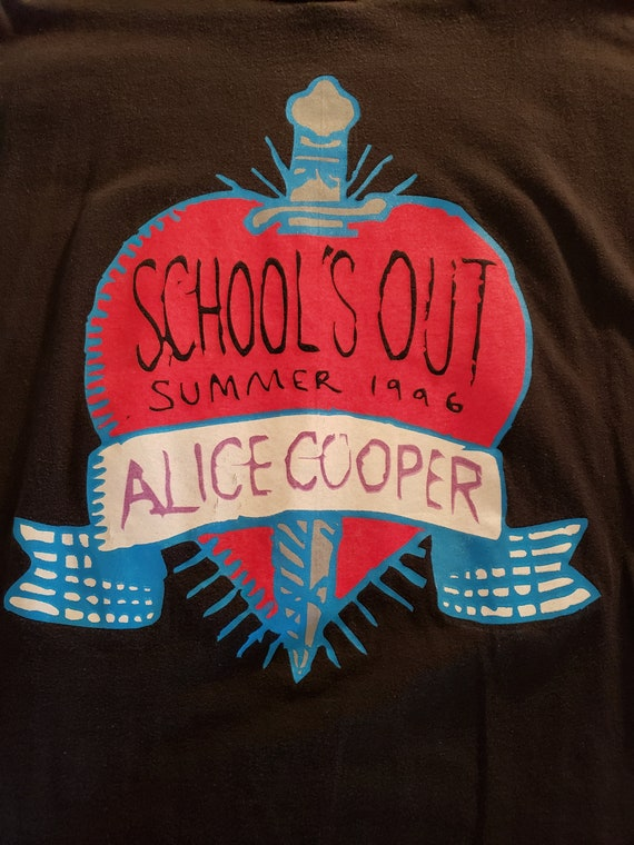 1996 Alice Cooper Schools Out Summer Tour Vintage