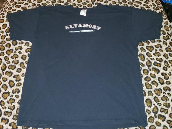 90s Altamont Vintage Rock Band T Shirt Skateboard Concert