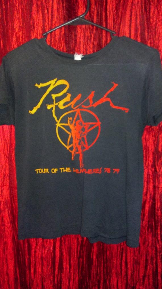 Authentic!!!!! SUPER Rare!!!!! 1978 Vintage RUSH H