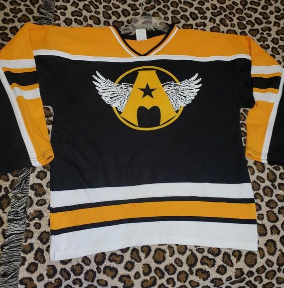 AEROSMITH JERSEY Boston Bruins Hockey