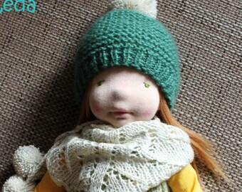 SALE!!! Waldorf Doll - Leda, 17''- Waldorf inspired doll, OOAK doll