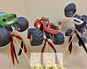 Blaze and the Monster Machines Centerpiece