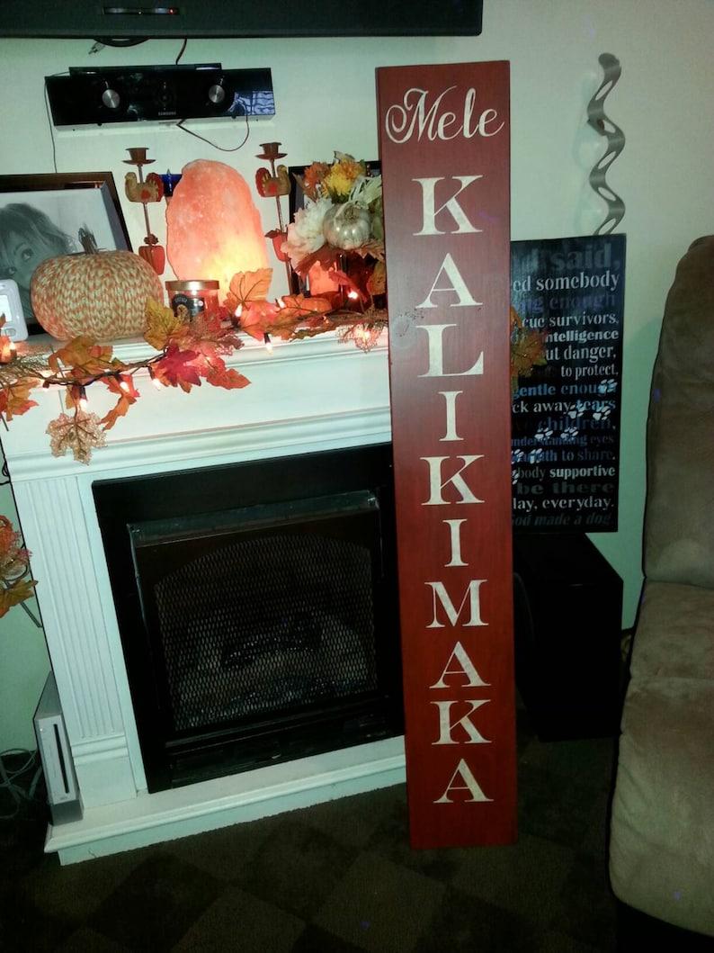 Frohe Weihnachten Hawaii.Mele Kalikimaka Hawaiian Frohe Weihnachten Holz Veranda Zeichen Eingangsbereich Holz Rustikal Extra Große Eingangstür Distressed überdimensioniert