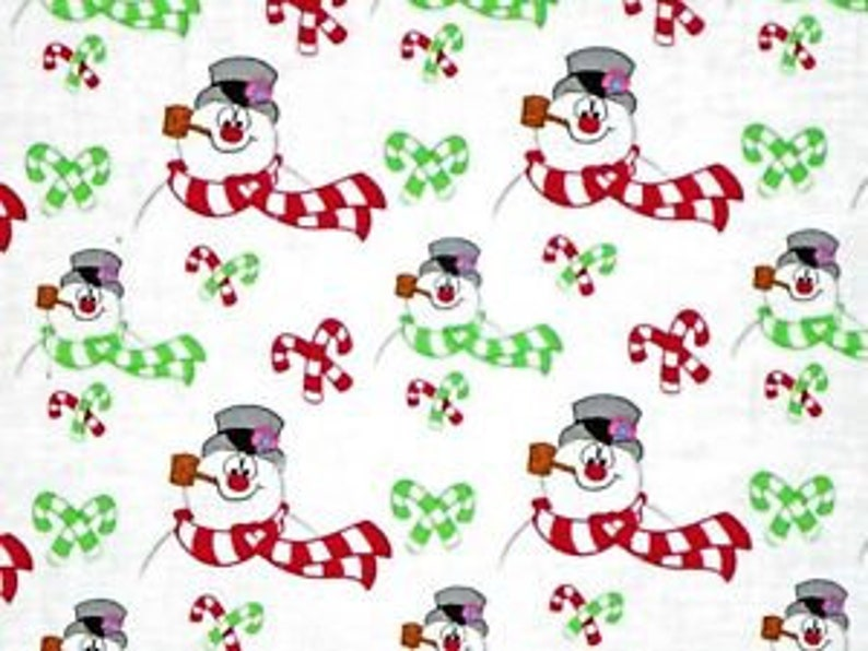 Frosty The Snowman sold by the yard image 0
