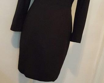 Vintage LBD Short Black Dress