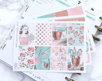 Final Sale // MATTE Classic HP Sweet Treats Planner Sticker Kit - For Classic Happy Planners