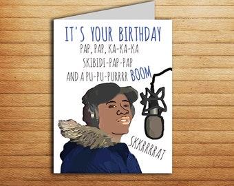 Funny Big Shaq Birthday Card Meme Quick Maths Pop Culture For Boyfriend Gift Hip Hop Rapper Printable Mans Not Hot