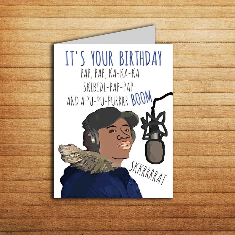 Funny Big Shaq Birthday Card Meme Quick Maths Pop Culture