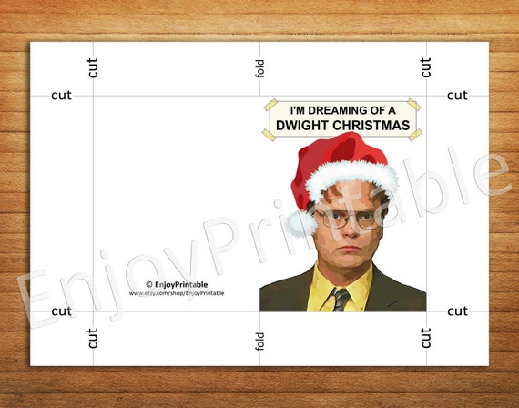 the office greeting cards
