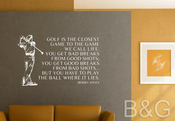 Life is Good Tan golfer Sticker Decal