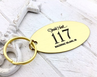 Handwritten BRASS Key Chain, Your Handwriting or font, Personalized Oval Brass key chain, keychain for him or her, Valentine's Day Gift Idea