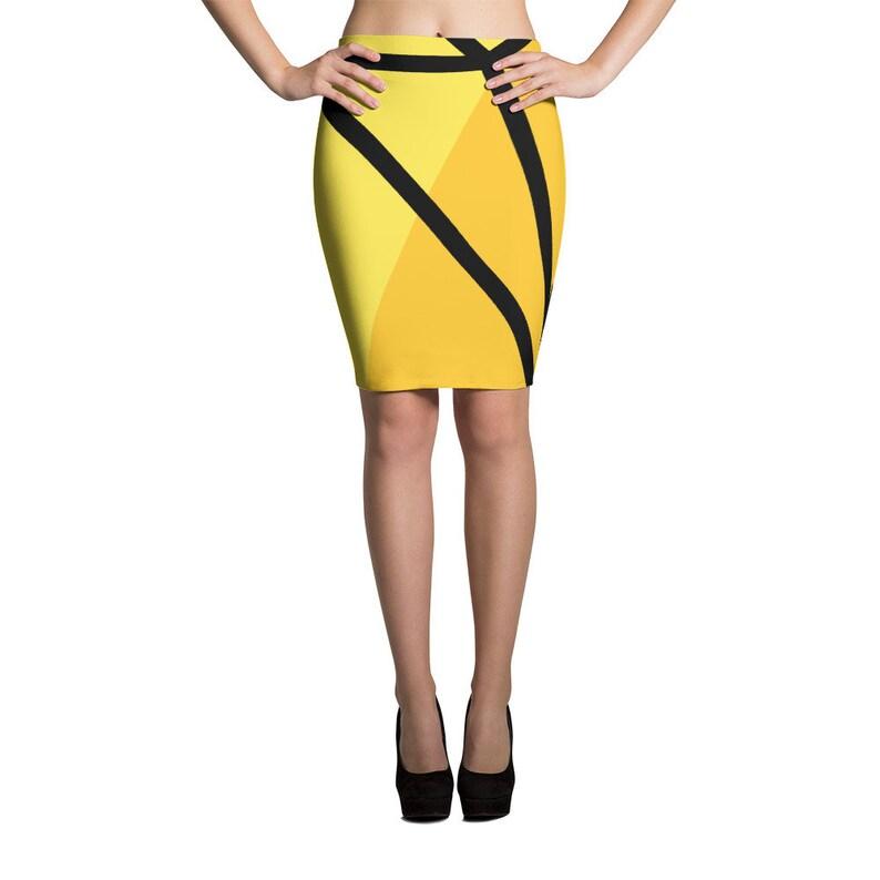 6a7187a1685 Yellow Pencil Skirt Womens Skirts Pencil Skirts for Women