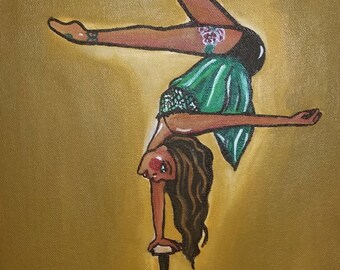 Honey  - Circus Girl Handbalancer Contortionist