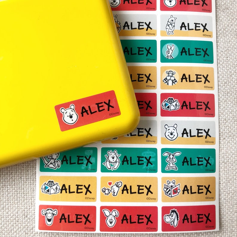 Dishwasher safe labels Waterproof labels Name labels Daycare labels School  name tags Name stickers Name tag stickers