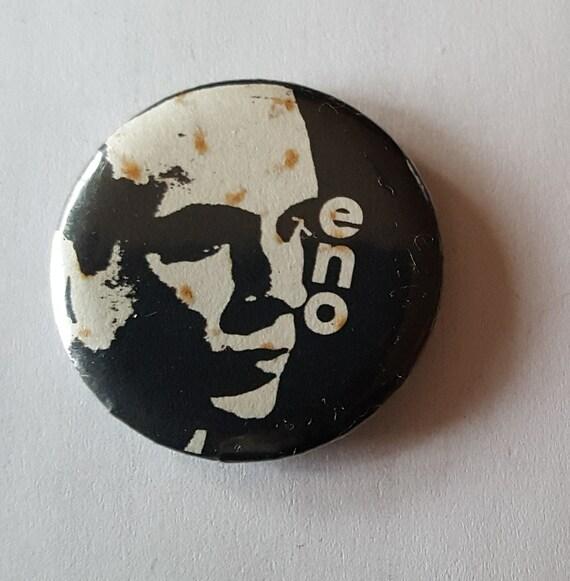 "THE CLASH Concert Ticket Stub Pin Button Badge 2.25/"" Punk Rock Pinback US 1982"