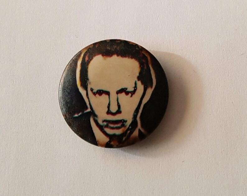 JOE JACKSON Look Sharp Pinback Vintage 1978 1 Punk Badge Button New Wave UK Rare Elvis Costello Power Pop