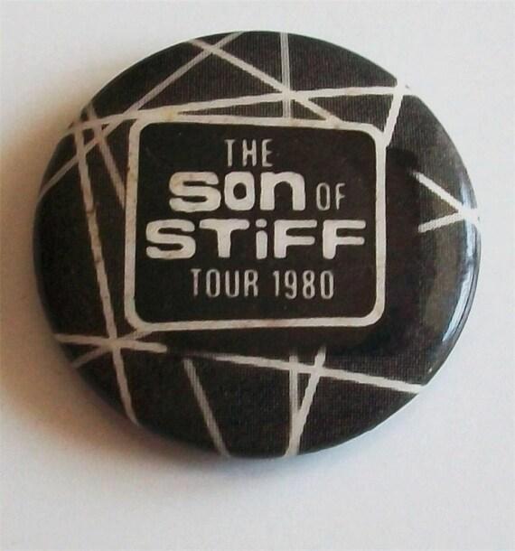 SON OF STIFF TOUR 1980 PICTURE BADGE