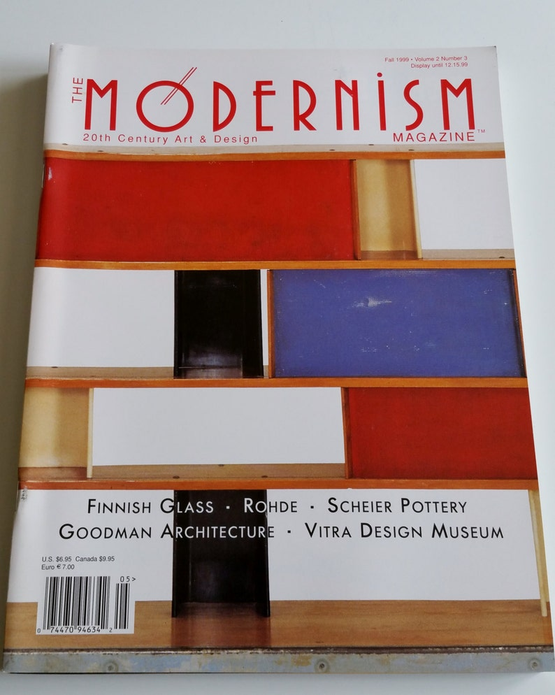 . The Modernism MAGAZINE 20th Century Art   Design Lot Of 26 RARE Early  Issues HTF Mid Century Modern Design Art Collectables Interior Atomic