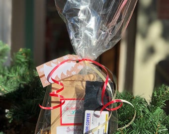 Holiday Decaf Coffee Gift Basket-Small