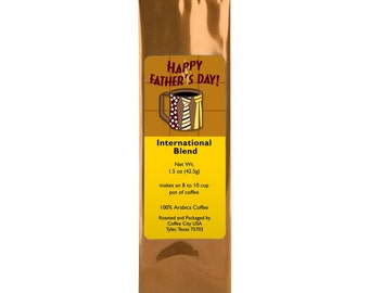 """New! """" Happy Father's Day"""" Coffee Pack"""