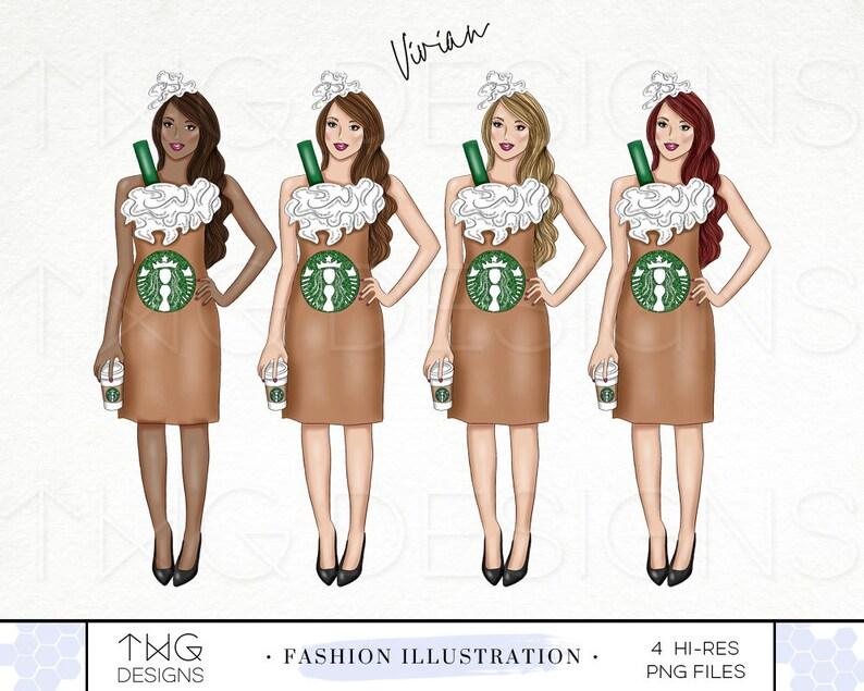 572ecbd307f9 Caffè Halloween Costume moda illustrazione Clip Art Clipart