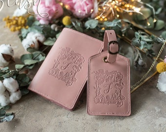 Leather passport cover personalized, Leather Passport holder, passport wallet, Initial passport cover, personalized passport holder