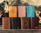 Leather passport cover personalized, Leather Passport holder, passport wallet, travel gift, wanderlust gift, traveler 39 s gift