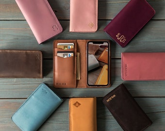 iPhone 7 case Leather, Personalized iPhone 7 plus case, iPhone 6 case, iPhone 6 plus case, iPhone SE case, iPhone 7 plus wallet case