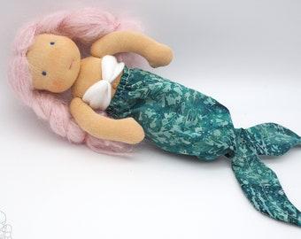 Waldorf mermaid doll | made to order - choose how she looks!