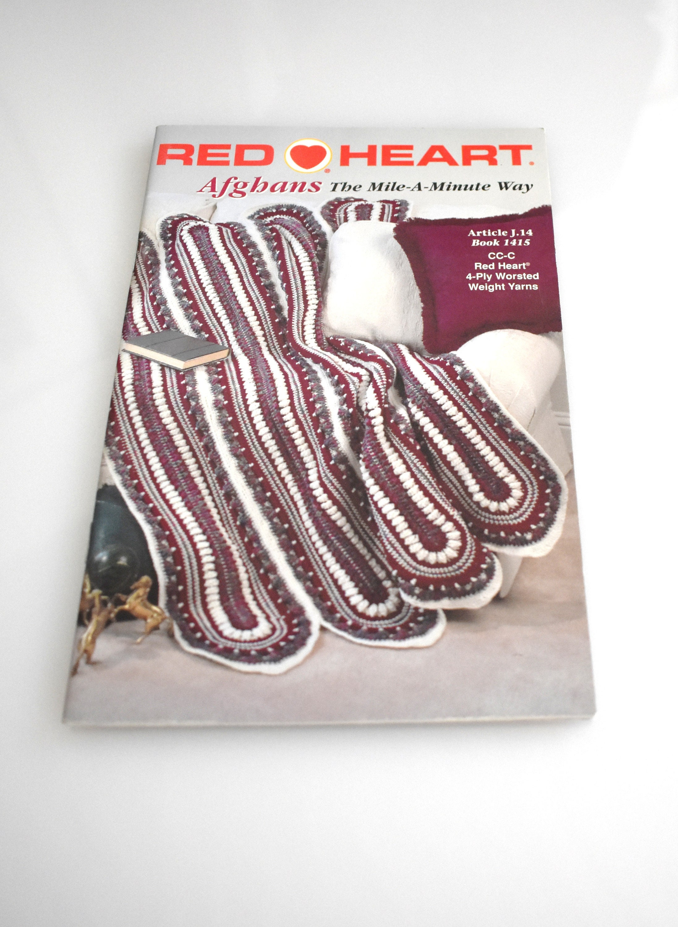 Red Heart Mile A Minute Afghan Pattern Interesting Ideas