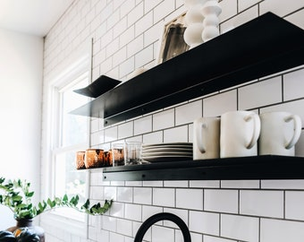 Metal Wall Shelf - Multiple Sizes Available