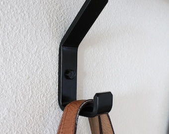 Black Wall Hook (More Finishes Available)