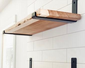 Metal Shelf Bracket for Floating Shelves, As Seen in Becki Owens