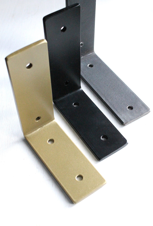 Heavy Duty Bracket, L Brackets for Shelf, Hardware Included