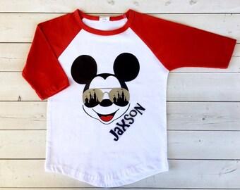 c5a16e324 Disney Shirt for Boys, Mouse Ears Shirt, Mens Disney Shirt, Disney Shirt  for Boys, Mickey shirt, Boys Disney Shirt