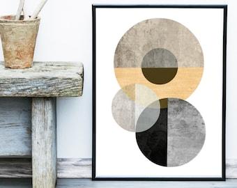 Textured Wall Art, Abstract Art Print, Scandinavian Art, Geometric Print,  Geometric Print, Giclee print, Wall Art, Poster, contemporary Art