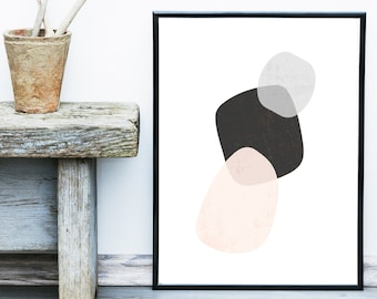 Scandinavian Art, Minimalist print, Abstract Art Print, Giclee print, Wall Art,  Poster,  Abstract Art, Wall Decor