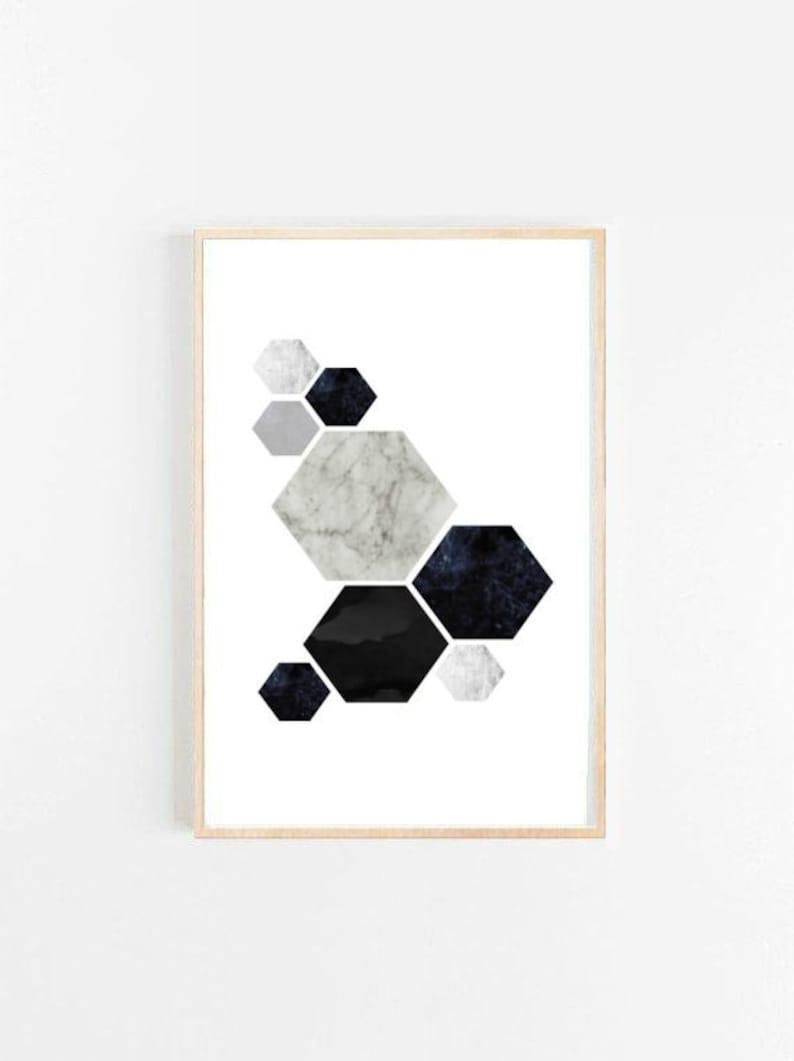 Scandinavian Drukowanie Geometryczne Plakat Streszczenie Sztuka Drukowania Art Print Giclee Drukowanie Nowoczesne ściany Duże ściany Drukowanie