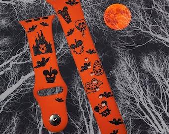 Halloween Snacks Watch Band / My favorite Snacks / Halloween strap band